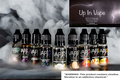 Avocado Chocolate Liquid Vape vaportech e juice up in vape vapor shop thornton up in