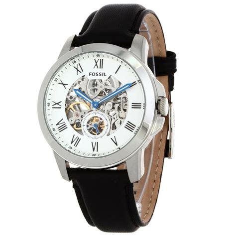 montre fossil automatic me3053 sur mode in motion