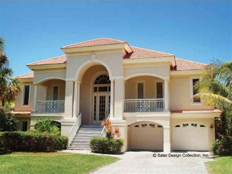 Mediterranean Villa House Plans by Mediterranean House Plan With 2494 Square And 3
