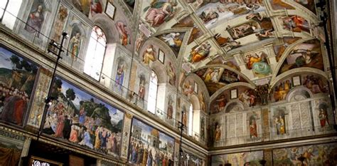 Sisteen Chapel Ceiling by The Sistine Chapel Ceiling Turns 500 Cultural Travel Guide