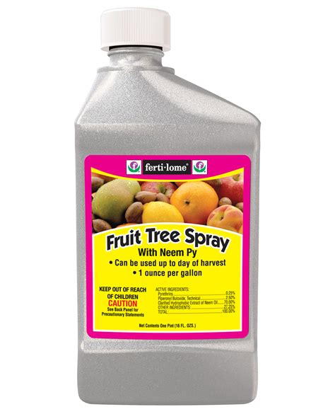 best organic fruit tree spray ferti lome hi yield guard local solutions