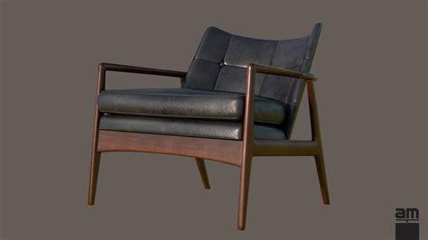 milo baughman armchair milo baughman thayer coggin armchair 3d model max obj fbx