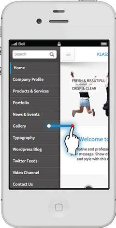klassio rsv responsive mobile template site templates