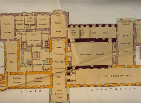 windsor castle floor plan windsor castle floorplans staterooms castles and palaces