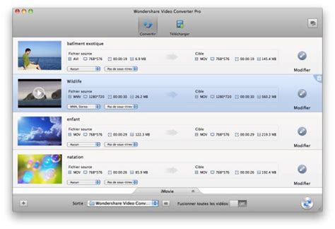 format audio imovie comment convertir flv vers imovie