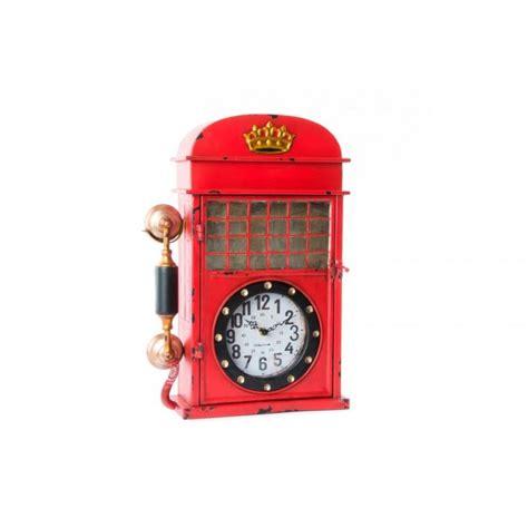 cabina telefono inglese portachiavi orologio a parete cabina telefono inglese a