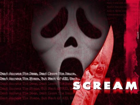 ghostface film scream wallpapers wallpaper cave