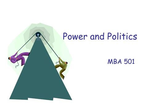 Mba Politics by Ppt Power And Politics Powerpoint Presentation Id 171582