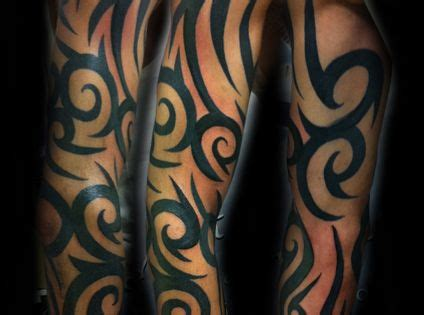 half body tribal tattoos tribal tattoos for tribal half sleeve tattoos for