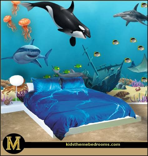 ocean themed bedroom decor decorating theme bedrooms maries manor underwater bedroom ideas under the sea