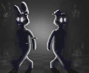 Shadow bonnie and shadow freddy by swatthy on deviantart