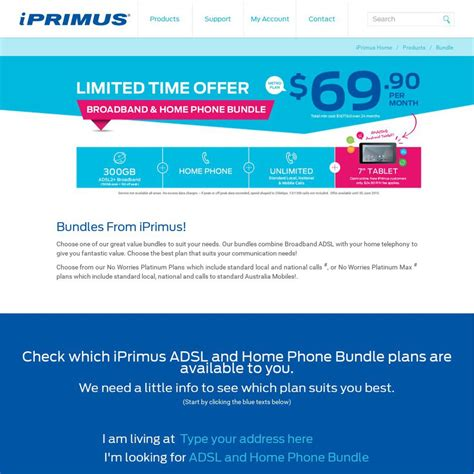 iprimus home phone plans home design and style