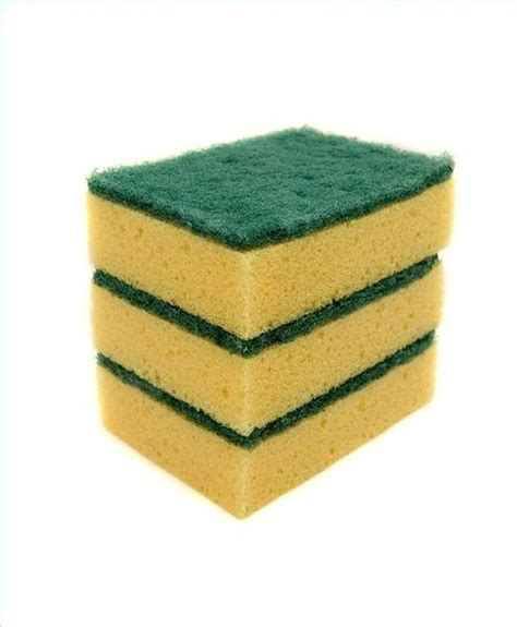 Cleaning Sponge what is a cleaning sponge made of hunker