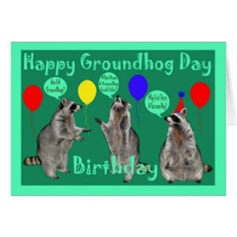 groundhog day happy day groundhog day cards zazzle
