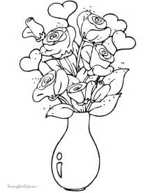 free valentine day coloring pages 009 az dibujos para