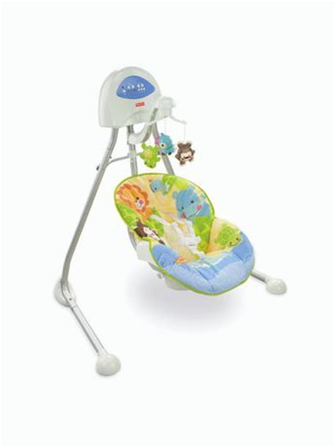 fisher price swing age fisher price animals of the world cradle swing walmart ca