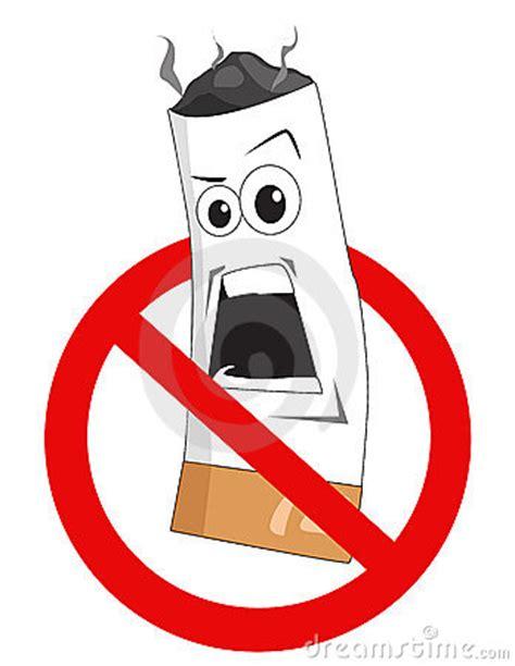 no smoking sign cartoon cartoon no smoking sign royalty free stock photo image