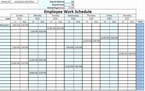 lunch schedule template excel lunch schedule template excel