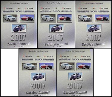 free online auto service manuals 2007 chrysler 300 auto manual search