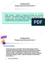 engineering drawing interpretation specification technical standard engineering tolerance