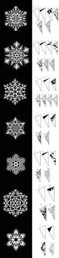 Paper Snowflake Template by 25 Best Ideas About Paper Snowflakes On Paper
