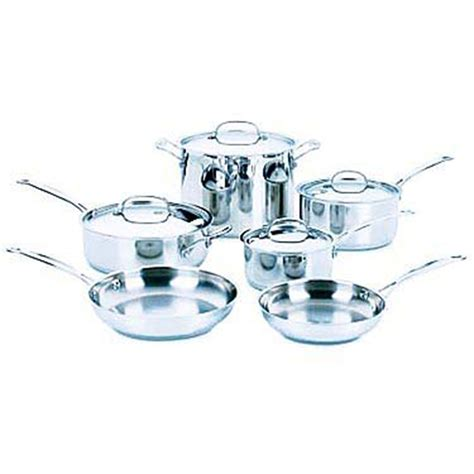 Oxone Classic Cookware Set cuisinart 10 pc chef s classic stainless steel cookware set stainless steel home