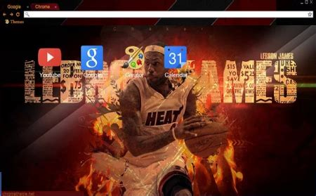 chrome themes james white 12 celebrity chrome themes to prove you are a real fan
