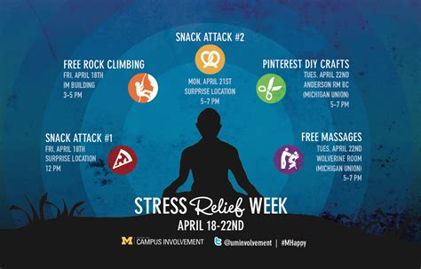 Stress Release Home Spa In Winter by Stress Relief Week Winter 2014 Cus Involvement
