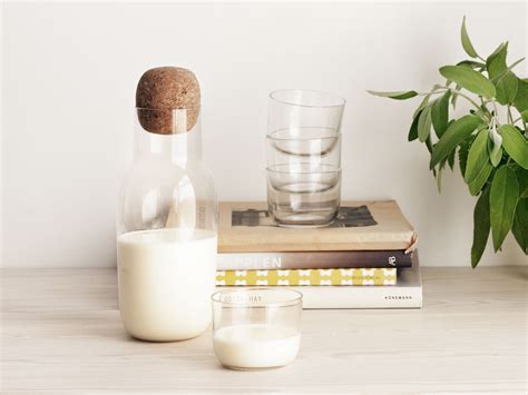 Scandinavian Dining Room buy the muuto corky carafe amp glasses at nest co uk