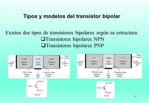 transistor bipolar tipo npn transistores bjt monografias