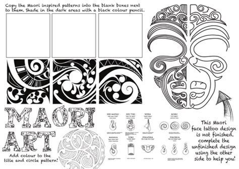 pattern making jobs nz maori art worksheet by rnd86 teaching resources tes