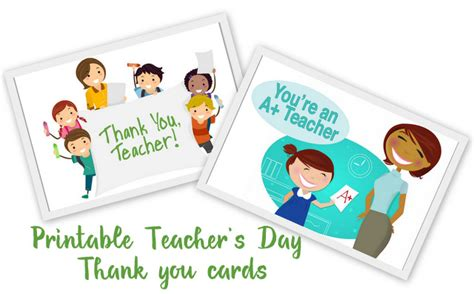 printable teachers day card 20 awesome teachers day card ideas with free printables