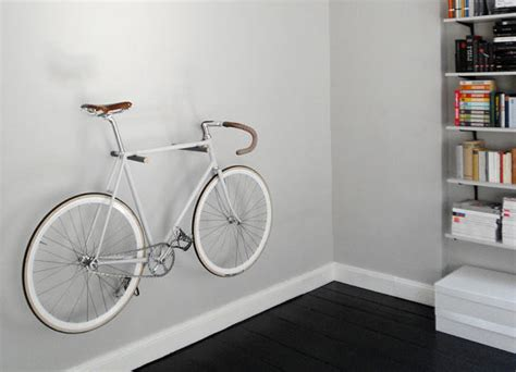 Wall Hooks Bike Storage Simple Minimal Wood Peg Bike Storage Rack Bikerumor