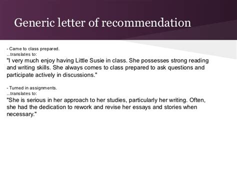 Recommendation Letter Process College Recommendation Letter Process
