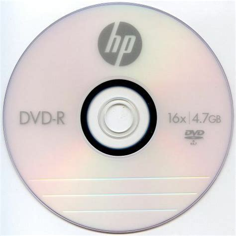 Sony Dvd R Blank 4 7 Gb Dvd Kosong 25pk hp logo 16x dvd r dvdr blank disc storage media 4 7gb