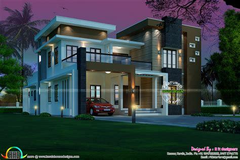 kerala home design kannur contemporary 5 bedroom 3727 sq ft kerala home design and