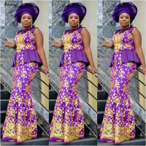 styles of purple cordlace cord lace chantilly lace and more aso ebi styles