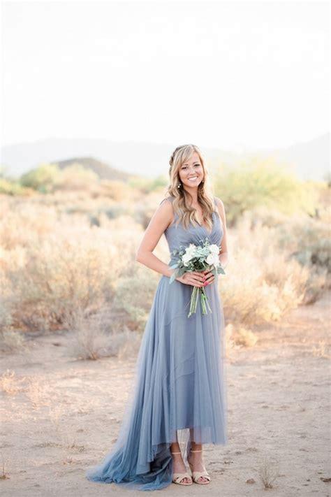 top  dusty blue  copper wedding color ideas deer