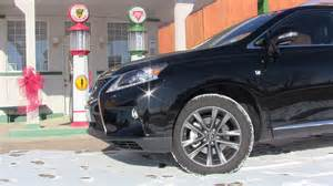 review 2013 lexus rx350 f sport what does the f sport