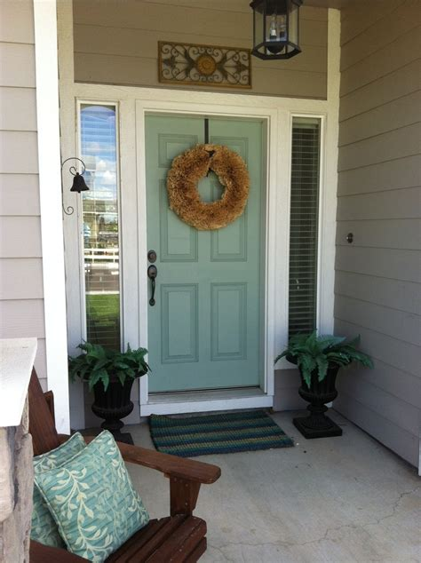 door accent colors for greenish gray freckle face girl shut the front door