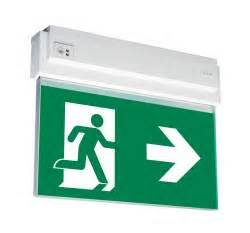 self contained exit light emergency exit lights teknoware