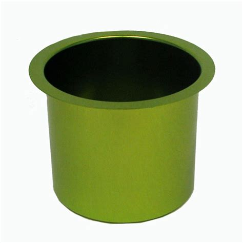 Table Cup Holder by Aluminum Table Jumbo Cup Holder Green