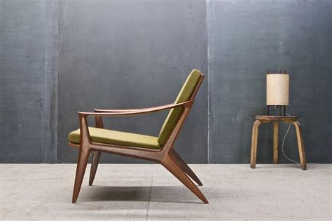 Vintage Danish Modern Relling Bambi Sculptural Teak Chair Modern Retro Furniture