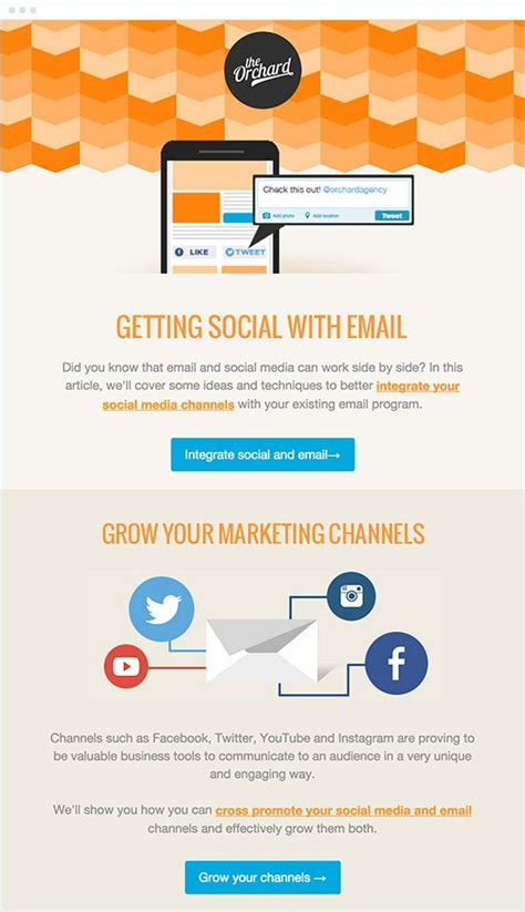 best layout for email marketing 17 best images about newsletter emails on pinterest