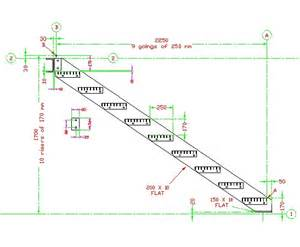 How To Layout Stair Stringer by How To Layout Stair Stringers Submited Images Pic2fly