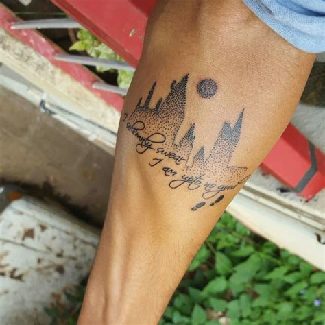 marauders map tattoo harry potter been wanting to get inked for a