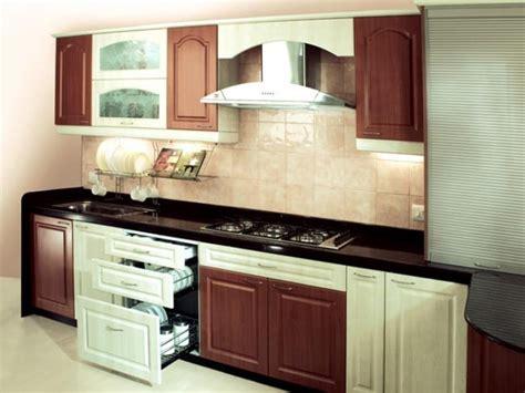straight kitchen design
