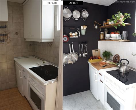 diy small kitchen ideas diy small kitchen remodel before and after our kitchen