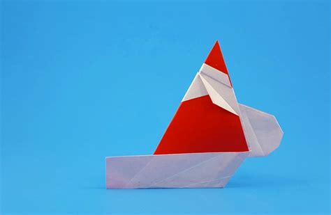 How To Make A Paper Santa Sleigh - origami and santa claus page 16 of 17 gilad