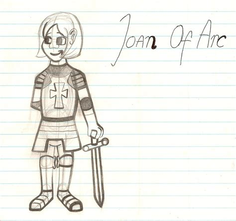 page boy cut joan of arc my best drawing of joan of arc ever by mouseavenger on